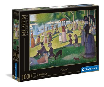 Puzzle Seurat - A Sunday Afternoon on the Island of La Grande Jatte