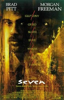 SEVEN - movie - плакат (poster)