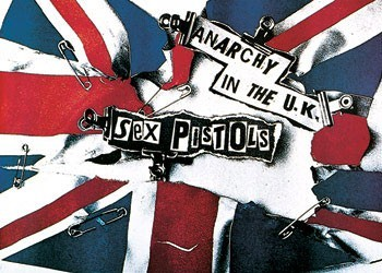 Sex Pistols - anarchy - плакат (poster)