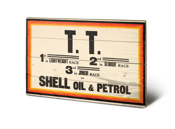 Bild auf Holz  Shell - TT