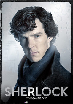 Sherlock - Close Metallic plakat