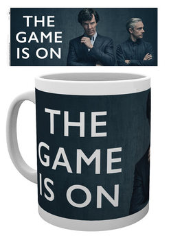 Taza Sherlock - The Game Is On