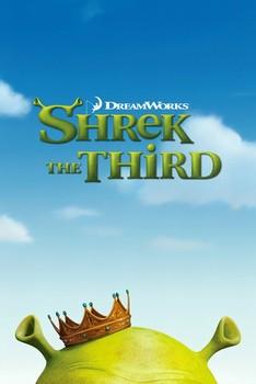 SHREK 3 - teaser - плакат (poster)