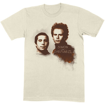 T-skjorte Simon & Garfunkel - Faces