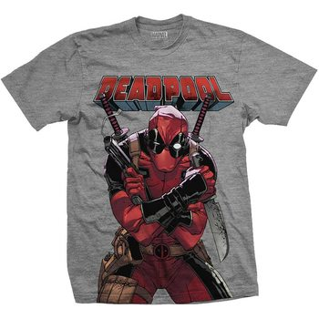 Deadpool - Big Print Skjorte