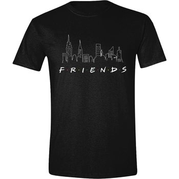 Friends - Logo and Skyline Skjorte