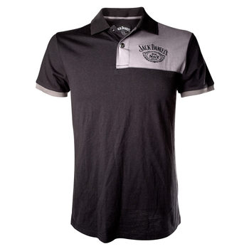 Jack Daniel's - Grey Patch with logo T-shirt