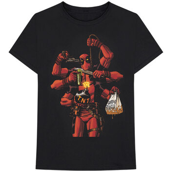 Marvel - Deadpool Arms T-shirt