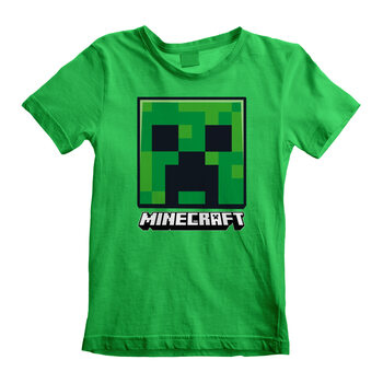 Minecraft - Creeper Face Skjorte