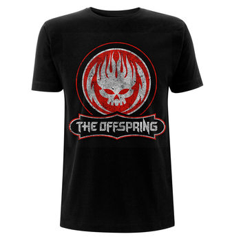 Offspring - Distressed Skull Skjorte