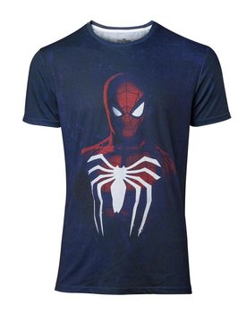 Spiderman - Acid Wash Spiderman Skjorte