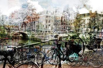 Skleněný Obraz Amsterdam