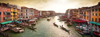 Skleněný Obraz Benátky - Slunné Benátky