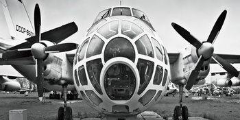 Skleněný Obraz  Letadlo - Kokpit