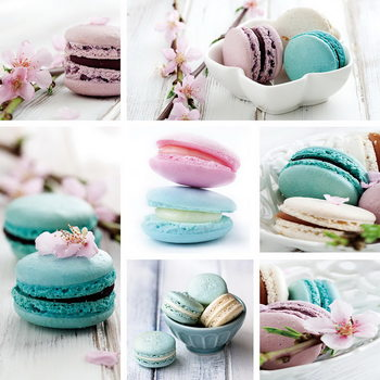 Obraz Macaron - Blue Art