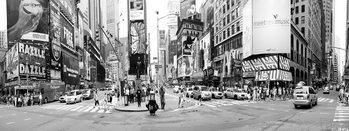 Skleněný Obraz New York - Ruch na Times Square