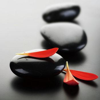 Skleněný Obraz Zen - Červený