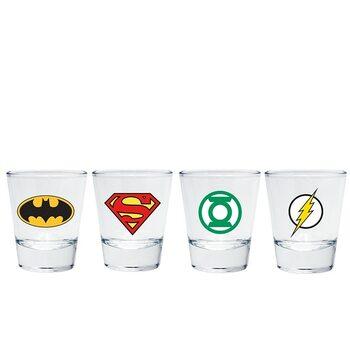 Sklenička DC Comics - Emblem