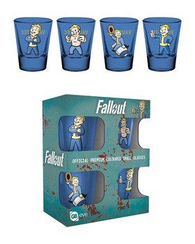 Sklenice Fallout - Vault Boy