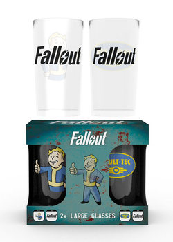 Sklenice Fallout - Vault Tec
