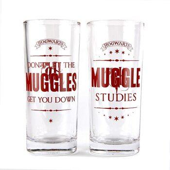 Sklenička Harry Potter - Muggles
