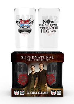Sklenička Lovci duchů - Dean and Sam