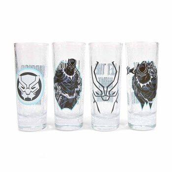 Sklenice Marvel - Black Panther