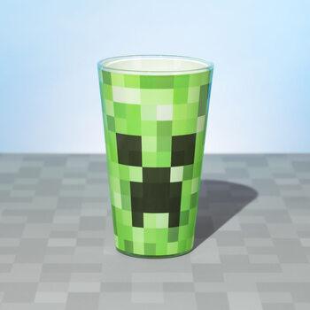 Sklenice Minecraft - Creeper