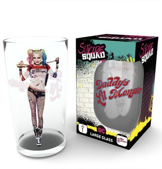Sklenice Sebevražedný oddíl (Suicide Squad) - Harley Stand