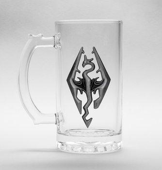 Sklenice  Skyrim Dragon - Symbol