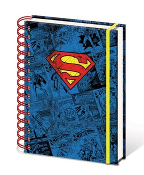 Dc Comics A5 Notebook - Superman  Skolesager