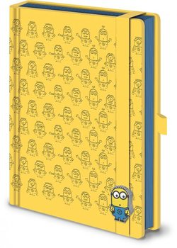 Grusomme mig - Despicable Me - Pattern A5 Premium Notebook Skolesager