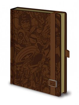 Marvel Retro - Premium A5 notebook Skolesager