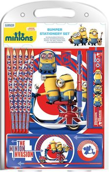 Minions - British Mod Bumper Stationery Set  Skolesager