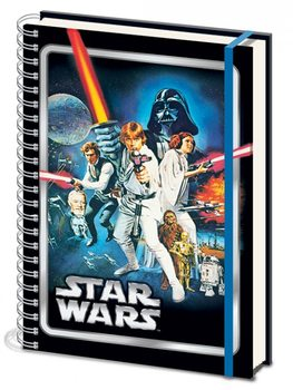 Star Wars - A New Hope A4 Notebook Skolesager