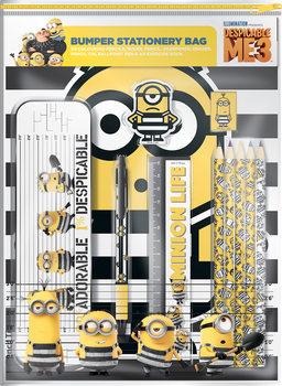 Skrivesaker Gavesettet inneholder: 4x fargeblyanter, 1x linjal, 1x blyant, 1x blyantspisser, 1x viskelær, 1x penal, 1x kulepenn, 1x A4 øvingsbok