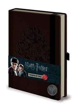 Harry Potter - Hogwart's Crest Premium A5 Notebook Skrivesaker