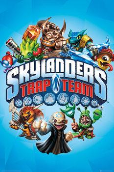 Skylanders Trap Team - Trap Team - плакат (poster)