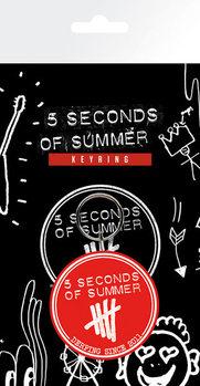 5 Seconds of Summer - Derping Sleutelhangers