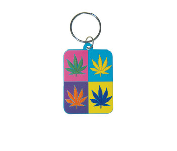 CANNABIS - Pop Art Sleutelhangers