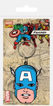 Captain America - Face Sleutelhangers