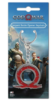 God of War - Serpent Sleutelhangers