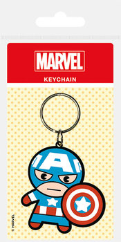 Marvel Kawaii - Captain America Sleutelhangers