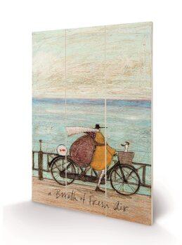 Sam Toft - A Breath of Fresh Air Slika na les
