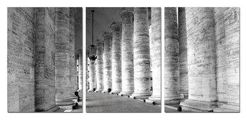 Gray pillars Slika
