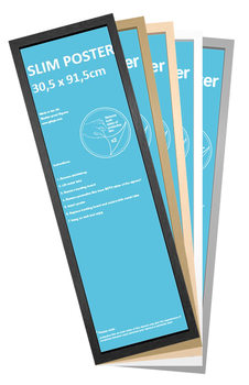 Slim plakáthoz keret 30,5x91,5cm keret