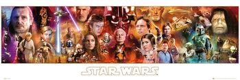 STAR WARS - Complete Saga Smale plakat