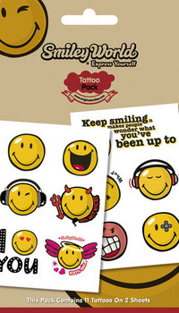 Tatuaje SMILEY 1