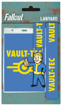 Šnúrka na krk Fallout 4 - Vault Tech