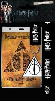 Šnúrka na krk Harry Potter - Deathly Hallows
